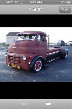Sweet!!! 1949 Dodge COE Pickup| bed of chevy '60-'66, W/ rear fenders of 48-52 Ford style side
