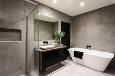 Glass shower doors make a beautiful addition to your bathroom, but can be tricky to clean. Use these five simple methods to keep your shower doors clean! Bathroom Renovations Sydney, Bathroom Remodeling Contractors, Bathroom Showrooms, Clean Shower Doors, Glass Shower Doors, Complete Bathrooms, Amazing Bathrooms, Simple Bathroom, Modern Bathroom