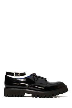Jeffrey Campbell Crash Black Lines Shoe - Jeffrey Campbell