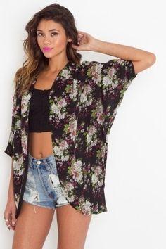 Blossom Kimono Jacket - NASTY GAL - StyleSays