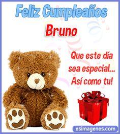 Feliz Cumpleaños Bruno Happt Birthday, Sister Birthday Quotes, Happy Birthday Sister, Happy Birthday Messages, Happy Birthday Images, Birthday Wishes, Fruit Birthday, Birthday Greetings, Funny Birthday