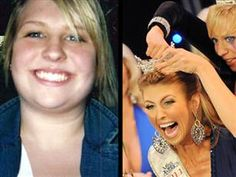 Miss South Carolina weighed 234 pounds as a teen and is now fighting obesity as her pageant platform.