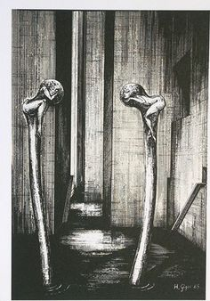 Hans Rüdi Giger: Shaft III
