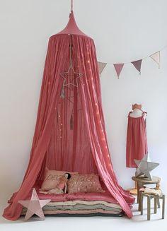 Rose pink decor for kids rooms