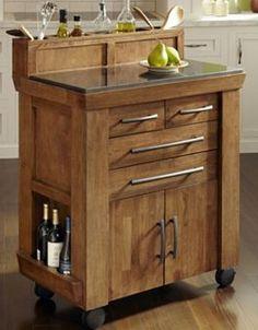 Vintage Gourmet Kitchen Cart