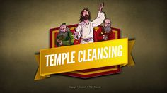 Mathew 21 Jesus Cleanses the Temple Kids Bible Lesson: In Matthew 21 we read of Jesus' deep love for his Father's house. When he witnessed money-changers turn the temple into a den of thieves he overturned tables and drove them out. In this powerful Sunday school lesson Jesus reveals his righteous anger against anything that pollutes true worship of the Father. Packed with digital content like Q&A, memory verse, big idea and more this is the teaching resource you've been looking for!