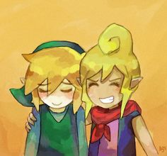 Link and Tetra