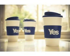 Re-usable Drinks Mug Was £8.99 Now £5.99  #indyref #Yescampaign #YesScotland #Drinksmug