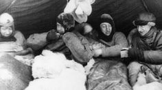 """""""The great white silence"""" (restored photos from Scott's Antarctic expedition)"""
