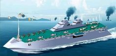amphibious ships of the future | the next generation multi purpose vessel of the teikoku s