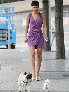 cute dress -- i've been looking for a dress this color for ages. perfect purple!