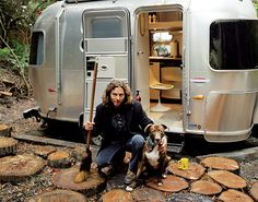 Eddie Vedder - I know you'd like this..... The air stream not the guy;)