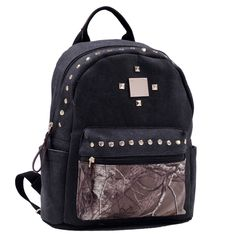 Dasein Realtree Studded Canvas Camo Backpack