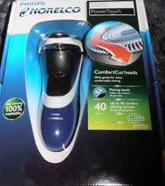 BNIB-Philips Norelco PT720 Super Lift & Cut Dry Electric Shaver with Flexing Heads-FREE S & H