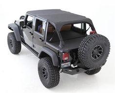Smittybilt Tonneau Cover Extension - Black Diamond Jeep Wrangler Unlimited JK Only Wrangler Jeep, Jeep Wrangler Interior, Jeep Wrangler Unlimited, Jeep Rubicon, Cj5 Jeep, Jeep Tops, Auto Jeep, Volkswagen, Badass Jeep