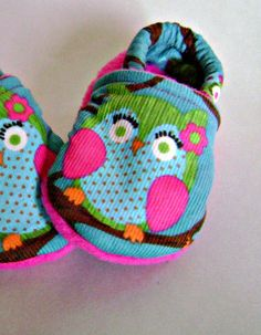 Baby shoes! @Lauren Blocker..... I feel like if you ever have a little girl.....I'll have to get her these! I know you love owls!