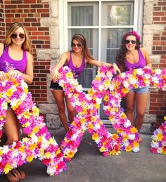 Because everything is better floral. TSM.