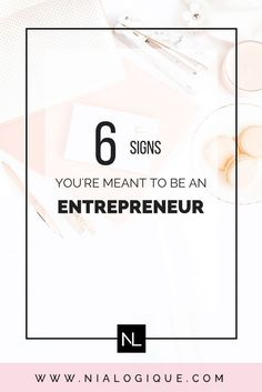 6 Signs You're Destined To Be an Entrepreneur | Being a business owner is not easy and if it were, everyone would be one. Here are the top, telltale signs that you are meant to be the boss of your own company. #startup #entrepreneur #onlinebusiness #followback #startup #followback #onlinebusiness #entrepreneur #startup #entrepreneur #onlinebusiness #followback