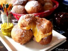 blt poppers   Cheesy Mini Monte Cristo Poppers