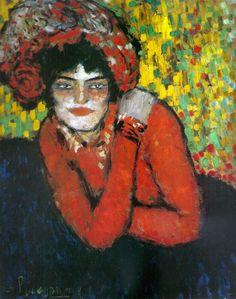 L'espera (Margot) by Pablo Picasso