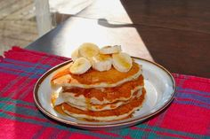 Vegan Holiday Pancakes #vegan