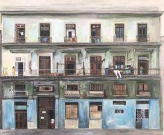 Love story in L'Havana (Building in Cuba)