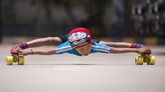 Record Breaking Limbo Skater: 6-year-old Skates Under 39 Cars | Watch the video - Screen India