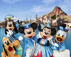 東京ディズニーシー15周年のイメージ,ミッキー,ミニー,ドナルド,グーフィー,プルート