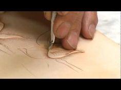 Carving a Leathercraft Leaf - Part 4