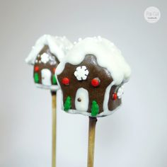 Cake Pop Lebkuchenhaus