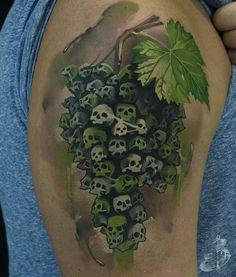 *Street art by Ludo!* Tattoo By  @butenko_serik @butenko_serik  UKRAINE/POLAND  _______________________________ #tattooinspiration #tattoosofinstagram #inkedup  #татумастер #t2 #tatu. #татуировки #tatovering. #beststattosukraine1.  #tätowierung #문신 #tatuaż #tatuaggio  #タトゥー #tato #tattooitalia #tatouages #tatuering #artenapele. #tattooed #tatuador #tatuaje #tatuajesenfotos #وشم #amazingtattoos #realistictattoos  #colortattoos #blackngrey #tat