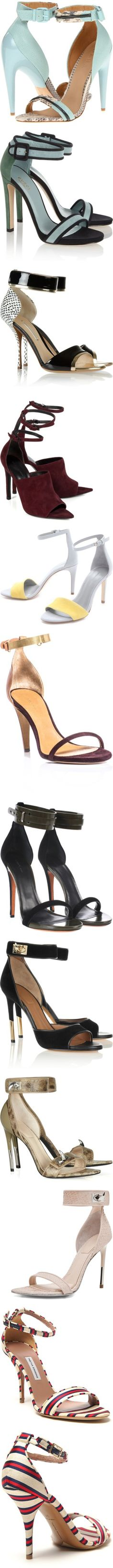 """""""Ankle strap sandals"""" by inmango ❤ liked on Polyvore"""