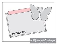 MFT Card Challenges: Wednesday Sketch Challenge - Sketch 255 - #mftstamps