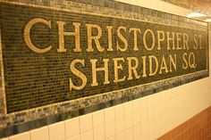 Christopher Street Subway