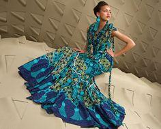 African Wedding Gowns   http://trendyafrica.com/2009/08/06/a-universe-of-sensational-fabrics ...
