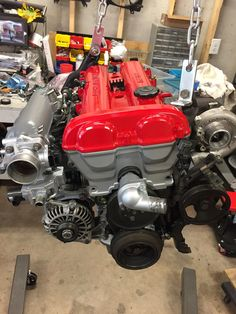 Freshly rebuilt Mazda 1.8 BP bored out to 1.9L forged internals, Flyin Miata FM Turbo II.   320 whp