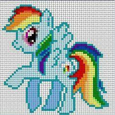 My Little Rain bow Pony