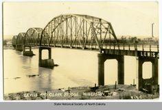 lewis clark bridge | Lewis and Clark Bridge, Williston, N.D.