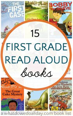 First grade read aloud books. Chapter books to read to 6-8 year olds.