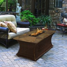 Rectangle Rusty Slate Mosaic Top - Santa Cruz https://www.studio9furniture.com/outdoor/fire-pits-bowls-glass/high-quality-fire-pits-fire-pit-tables/santa-cruz-rectangle-fire-pit-rusty-slate-mosaic-top  A design that will a amaze you, this one is worth sharing with your family, friends and guests.