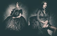 Theatrical Goth Editorials : goth editorial