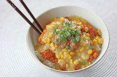 Chicken In Creamed Corn Gravy... I love chicken, I love creamed corn!