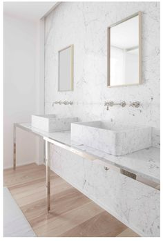 Marble marble marble! Renovating your bathroom? Contact us for ways to bring this into your home. dimensionalstone.net