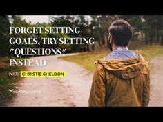 """Forget Setting Goals, Try Setting """"Questions"""" Instead. Lofty Questions.   Mindvalley Academy Christie Marie Sheldon, Universe Love, Meditation Videos, Miracle Morning, Behavioral Therapy, Setting Goals, Spiritual Growth, Critical Thinking, Self Improvement"""