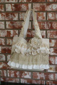 Shabby chic Tote bag