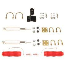 Rancho RS98511 Steering Stabilizer Kit. Rancho high-performance steering stabilizers are a simple and affordable way to enhance a vehicle's performance. Diesel Performance, Street Performance, Performance Cars, Heavy Duty Trucks, Wheels And Tires, How To Fall Asleep, Stability, Kit, Accessories