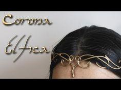 Tutorial: Como Hacer una Corona Elfica | Tierras de Rol - YouTube