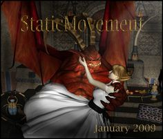 Sci-Fi-Fantasy-Horror cover art  created  by Lee Kuruganti for defunct ezine StaticMovement.