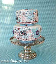 My cake for Scandinavian Cakeshow | Flickr - Photo Sharing!