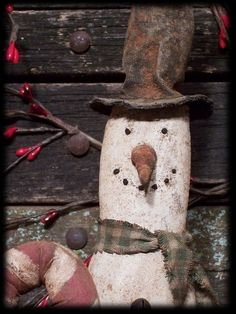 Primitive+Christmas+Skinny+Skiing+Snowman+by+rockriverstitches...